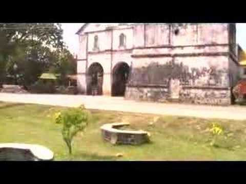 Baclayon Church And Tower, Baclayon, Bohol, Philippines video