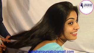 LHPB Rapunzel Mannu Silky Smooth Hair Male Combing And Braid Make With Healthy Hair