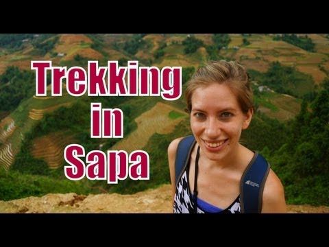 Hike to explore Lao Chai Village (Black Hmong) | Trekking in Sapa, Vietnam Travel Video (Part 1)