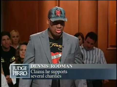 Chicago Bulls Star, Dennis Rodman, sues his friend for 4K on Judge Pirro