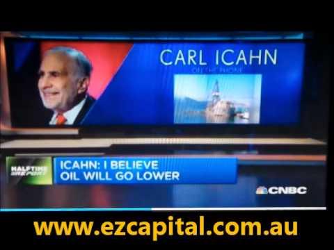 Carl Icahn: I believe oil will go lower