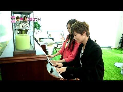 Tae-min♥Na-eun Playing Piano Together