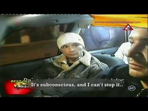 Camara oculta en taxi