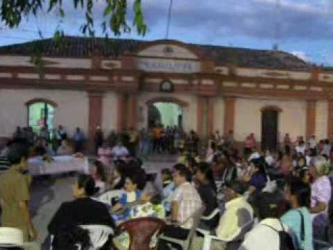 Inauguracion Parque Central Gracias, Lempira, Honduras