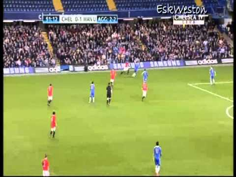 Chelsea Youth v Man Utd Youth (H)(FA) 11/12
