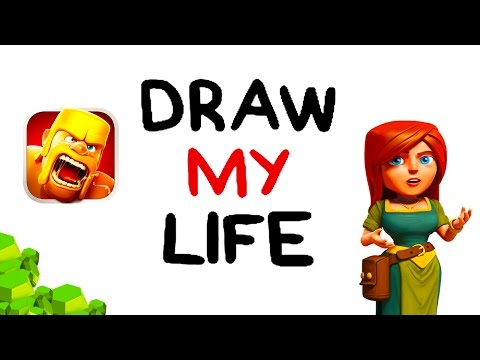DRAW MY LIFE - Clash of Clans Comedy