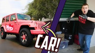 GUNS and CAR Found In Storage Unit! I Bought An Abandoned Storage Unit And Found A Car
