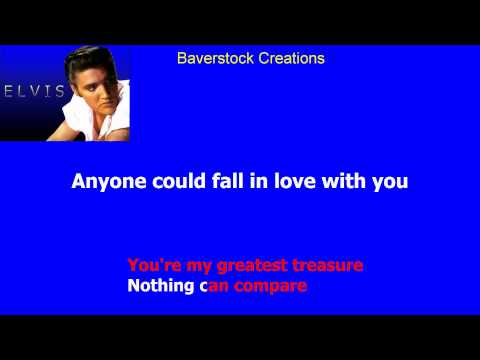 Elvis Presley - Anyone (could Fall In Love With You)