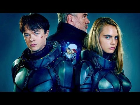 First Look at 'Valerian' Starring Dane DeHaan & Cara Delevingne