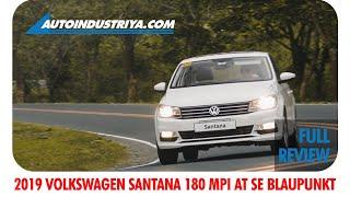 2019 Volkswagen Santana 180 MPI AT SE Blaupunkt - Full Review