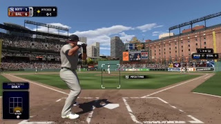 Scoop Dan MLB The show 18 franchise Yankees vs Orioles Game 60