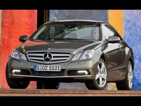 2010 Mercedes-Benz E-class @ 2009 Geneva Auto Show - Car and Driver Video