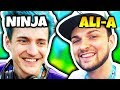 NINJA TALKS ABOUT MEETING ALI-A   Fortnite Daily Funny Moments Ep.101