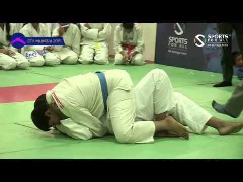 SFA Mumbai 2015 |Judo |Navin Sarwak Vs Khan Mohd  Ubaid Irfan |Boys | |U-14 | | +66Kg |SF |
