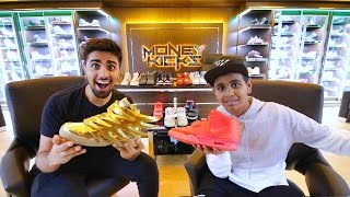 The Kid in Dubai with $1,000,000 in Shoes ...