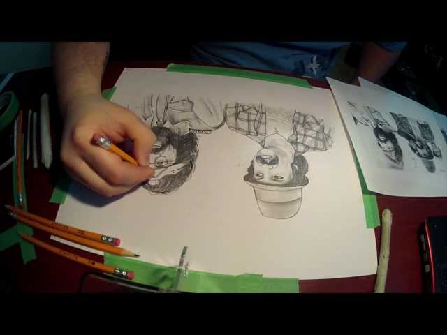 Time Lapse- Cheech & Chong Drawing