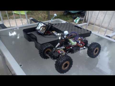 Underground Inspection Robot by RC Monster Garage, Part 1 of 4