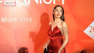 Việt Hương, Bảo Anh, Thúy Ngân tỏa sáng trên thảm đỏ Pops Awards