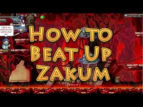 How To Beat Up Zakum