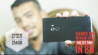 Xiaomi mi mix 18K gold Hands on bangla review by Take & Talk BD