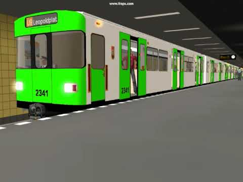 U-Bahn Berlin-My first train repaint and sound change-The BVB F90 in a new Green Livery Music Videos