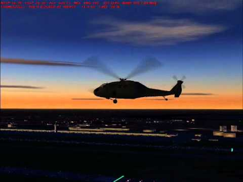 FS2004 Dubai International airport custom made AI traffic