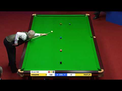 147! John Higgins Makes Maiden Crucible Maximum Break! 👊