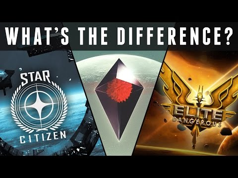 No Man's Sky vs. Elite Dangerous vs. Star Citizen - What's the Difference?