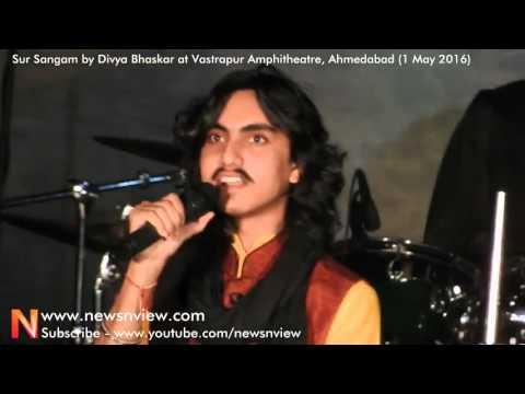 Gujarati Rap Song by Aditya Gadhvi at Sur Sangam Musical Program Event Ahmedabad