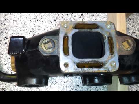 Exhaust manifold pressure test