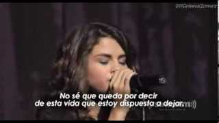 Selena Gomez - Dream (Cover live/ Traducida al Español))