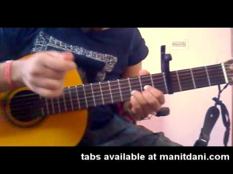 Learn MORA SAIYAAN (FUZON) on guitar (WITH ACCURATE INTRO TABS...
