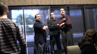 Ray Comfort -Behind The Scenes- 2/28/11