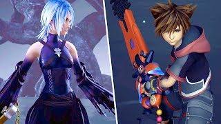 Kingdom Hearts 3 NEW Gameplay - Keyblades, Summons, Aqua Battle And More (TGS 2018)