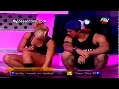 COMBATE: Ernesto Celoso de Coqueteos entre Mario Hart y Yamila Piñero 16/10/13