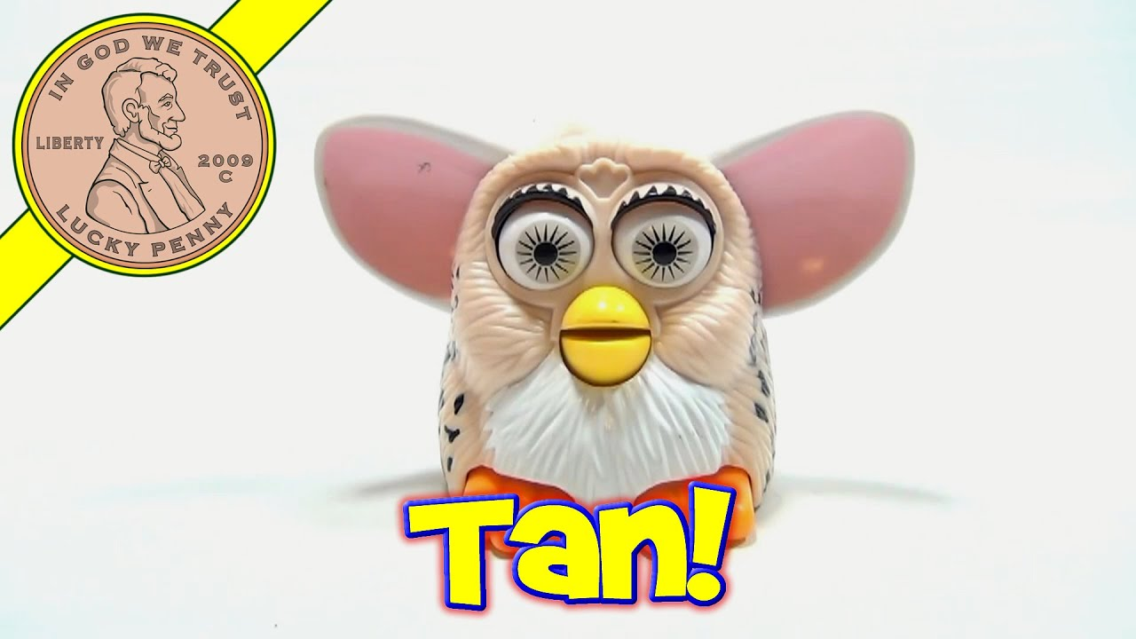 1998 Furby McDonald's Happy Meal Toy - Spotted Tan With ...