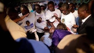 Aristide Collapsed at Political Rally in Cap-Haitian