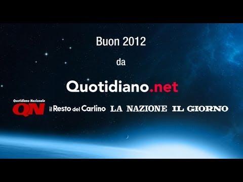 Buon futuro e buon 2012 da Quotidiano.net