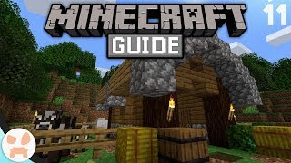 SEMI AUTOMATIC Cow Farming! | The Minecraft Guide - Minecraft 1.14.1 Lets Play Episode 11
