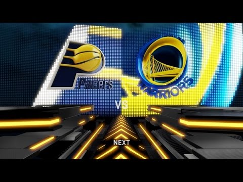 NBA2K16 career mode (defending champions) New season game 10 Indiana Pacers