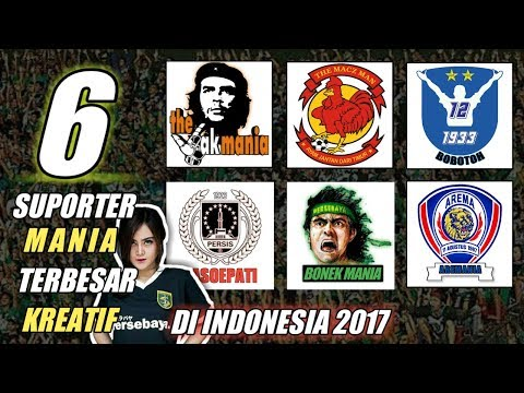 6 Suporter Mania Terbaik 2017 di Indonesia