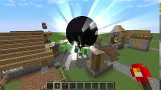 Minecraft Black Hole VS Village (Mod)