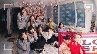 많으니까 더 시끄러운 엑소엘들의 Exo 엑소 34 Love Shot 34 Stage Reaction Feat 노리액션