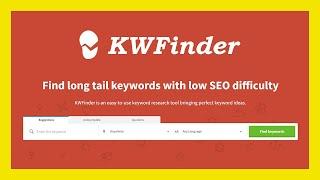 KWFinder: herramienta gratuita para buscar palabras clave (keyword research)