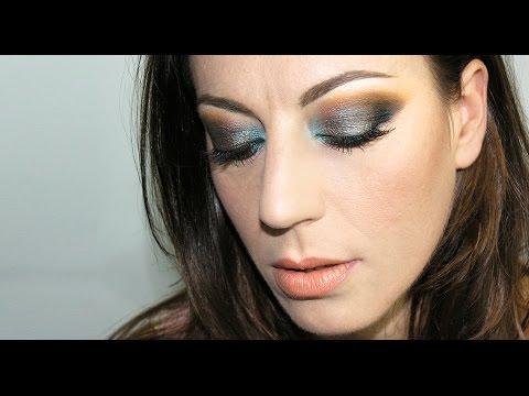 Fall make-up | Green and Caramel Make-up Tutorial