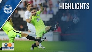 HIGHLIGHTS | MK Dons vs Peterborough United
