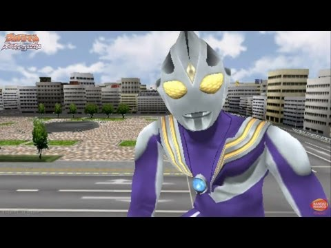 Ultraman All Star Chronicle - Extra 15 - 16 ★play PSP Ultraman Tiga Unlocked video