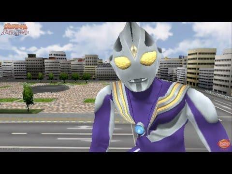 Ultraman All Star Chronicle - Extra 15 - 16 ★play PSP Ultraman Tiga Unlocked video