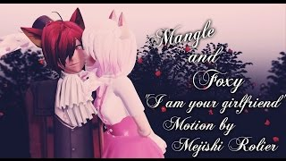 ~[MMD/FnaF]-Mangle and Foxy - I am your girlfriend- English sub.~
