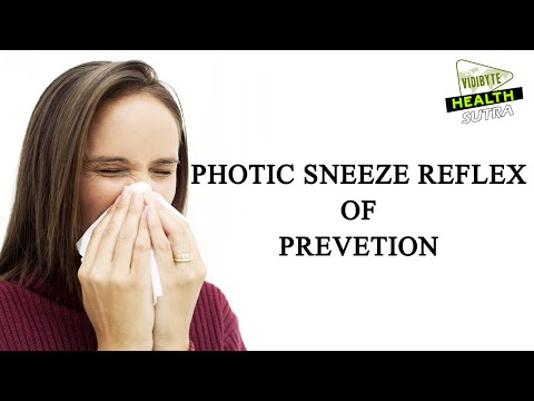 Allergy, Pollen, Photic sneeze reflex Prevention
